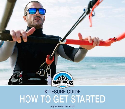 How to get started kitesurfing