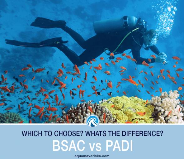 BSAC vs PADI Header