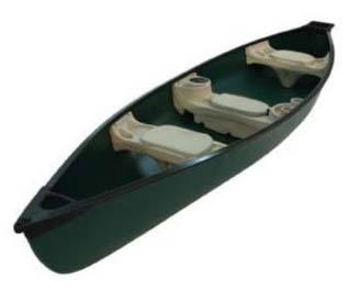 Sun Dolphin Mackinaw 15.6ft Square Back Canoe
