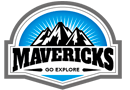 Aqua Mavericks Logo Header