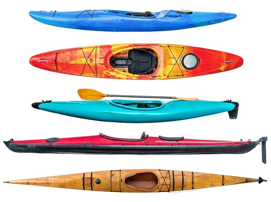 examples of sit inside kayaks
